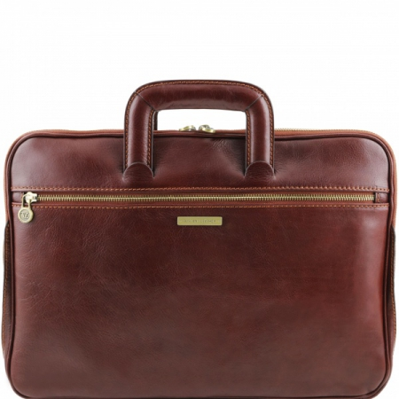 Портфель Tuscany Leather Caserta Brown