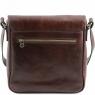 Сумка через плечо Tuscany Leather Messenger Brown