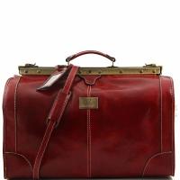 Дорожная сумка саквояж Tuscany Leather Madrid Red Большая