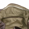 Дорожная кожаная сумка с пряжками Tuscany Leather TL Voyager Brown