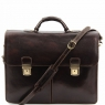 Портфель Tuscany Leather Bolgheri Dark Brown