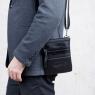 Небольшая сумка через плечо Lakestone Wesley Black