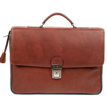 Портфель Gianni Conti 1751143 brown teal