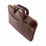 Портфель Tuscany Leather Caserta Dark Brown