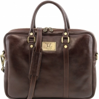 Портфель Tuscany Leather Prato Dark Brown