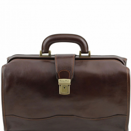 Саквояж Tuscany Leather Raffaello Dark Brown