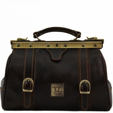 Саквояж Tuscany Leather Mona-Lisa Dark Brown