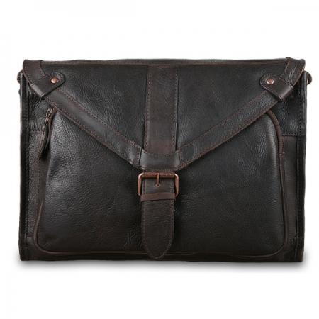 Сумка-мессенджер Ashwood leather Rhode Brown