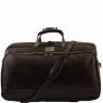 Дорожная сумка Tuscany Leather Bora Bora Dark Brown Большая