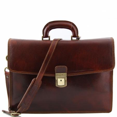 Портфель Tuscany Leather Amalfi Brown