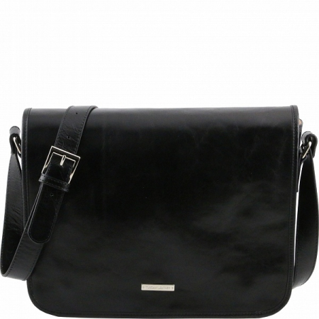 Сумка-мессенджер Tuscany Leather TL Messenger Black Большая