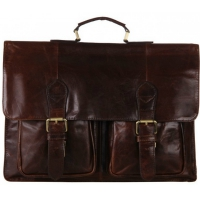 Портфель JMD 7105-2C Glossy Dark Brown