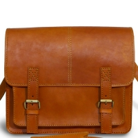 Сумка-мессенджер Ashwood leather VIN-041 Vintage Tan