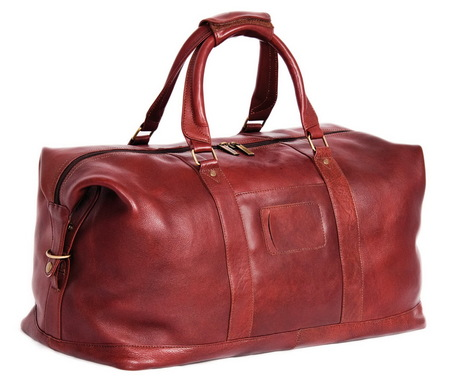 Дорожная сумка Ashwood Leather Harold 2070 cognac