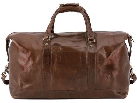 Дорожная сумка Ashwood Leather Harold 2070 chestnut brown