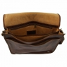 Сумка-мессенджер Tuscany Leather Messenger Double Dark Brown