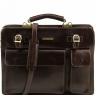 Портфель Tuscany Leather Venezia Dark Brown