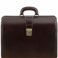 Портфель-саквояж Tuscany Leather Canova Dark Brown