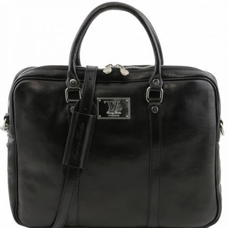 Портфель Tuscany Leather Prato Black