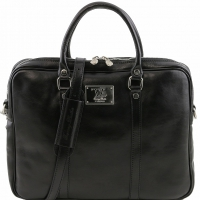 Портфель Tuscany Leather Prato Black