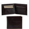 Эксклюзивный кожаный бумажник Tuscany Leather Dark Brown