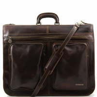 Дорожная сумка Tuscany Leather Tahiti Dark Brown