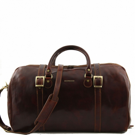 Дорожная сумка Tuscany Leather Berlin Brown Большая