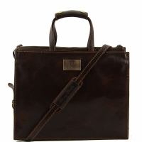 Портфель Tuscany Leather Palermo Dark Brown