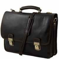 Портфель Tuscany Leather Firenze Dark Brown