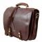 Деловая сумка-мессенджер Tuscany Leather Capri Dark Brown