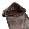 Сумка-мессенджер Gianni Conti 1812713 dark brown