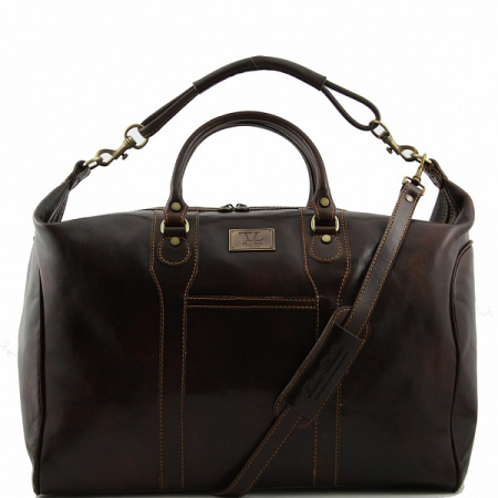 Дорожная сумка Tuscany Leather Amsterdam Dark Brown