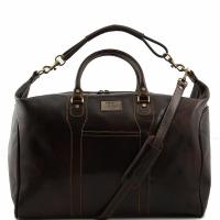 Дорожная сумка Tuscany Leather Amsterdam Dark Brown