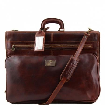 Дорожная сумка Tuscany Leather Papeete Brown