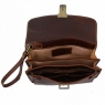 Борсетка Tuscany Leather Max Dark Brown