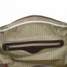 Дорожная кожаная сумка с пряжками Tuscany Leather TL Voyager Dark Brown
