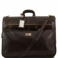 Дорожная сумка Tuscany Leather Papeete Dark Brown