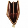 Эксклюзивный кожаный бумажник для женщин Tuscany Leather Brown
