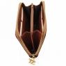 Эксклюзивный кожаный бумажник для женщин Tuscany Leather Black