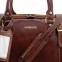 Дорожная сумка Tuscany Leather Berlin Dark Brown Маленькая