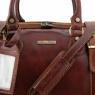 Дорожная сумка Tuscany Leather Berlin Black Маленькая
