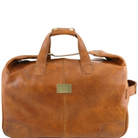 Дорожная сумка на колесах Tuscany Leather Barbados Sandy
