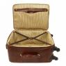 Дорожная сумка на колесах Tuscany Leather TL Voyager Dark Brown