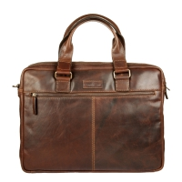 Бизнес-сумка Gianni Conti 1221265 dark brown
