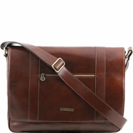 Деловая сумка Tuscany Leather Dymamic Brown
