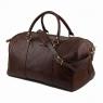 Дорожная кожаная сумка Tuscany Leather TL Voyager Brown Большая