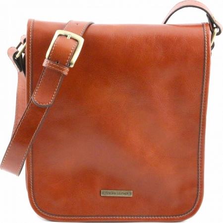 Сумка через плечо Tuscany Leather TL Messenger Honey Маленькая