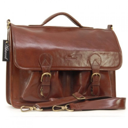 Портфель Ashwood leather 8190 Chestnut brown
