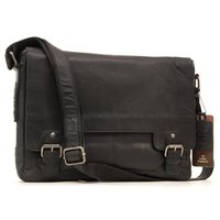 Сумка для ноутбука Ashwood Leather 8343 black
