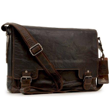 Сумка для ноутбука Ashwood Leather 8343 brown